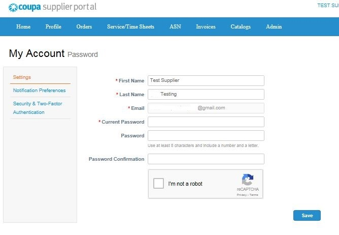 Registering on the Coupa Supplier Portal (CSP) - img 4