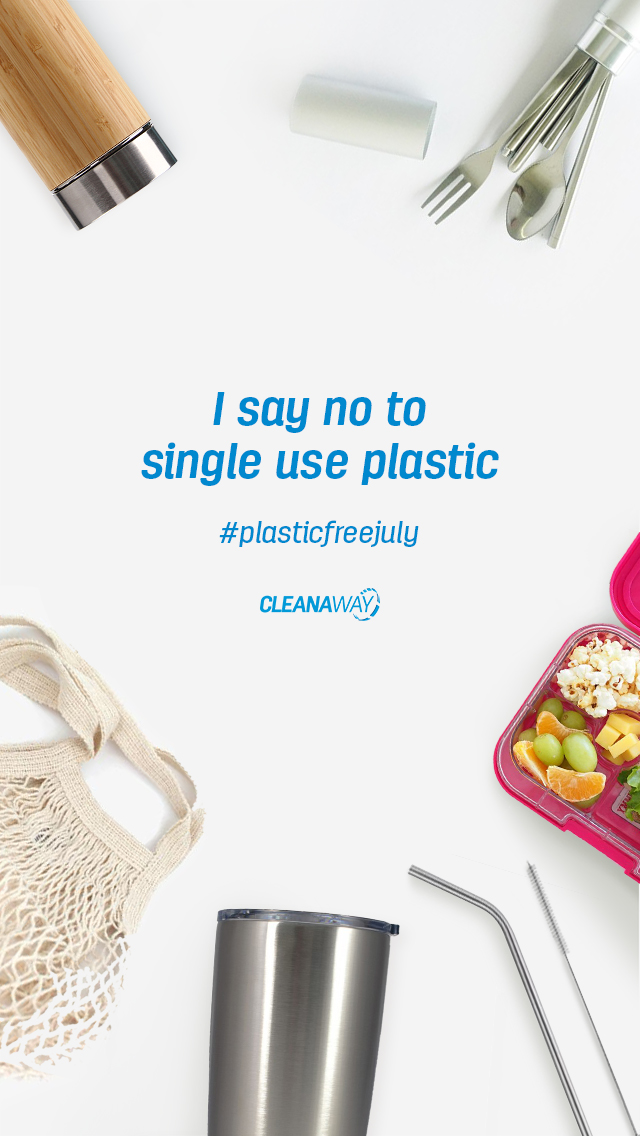 I say no to single use plastic mobile wallpaper