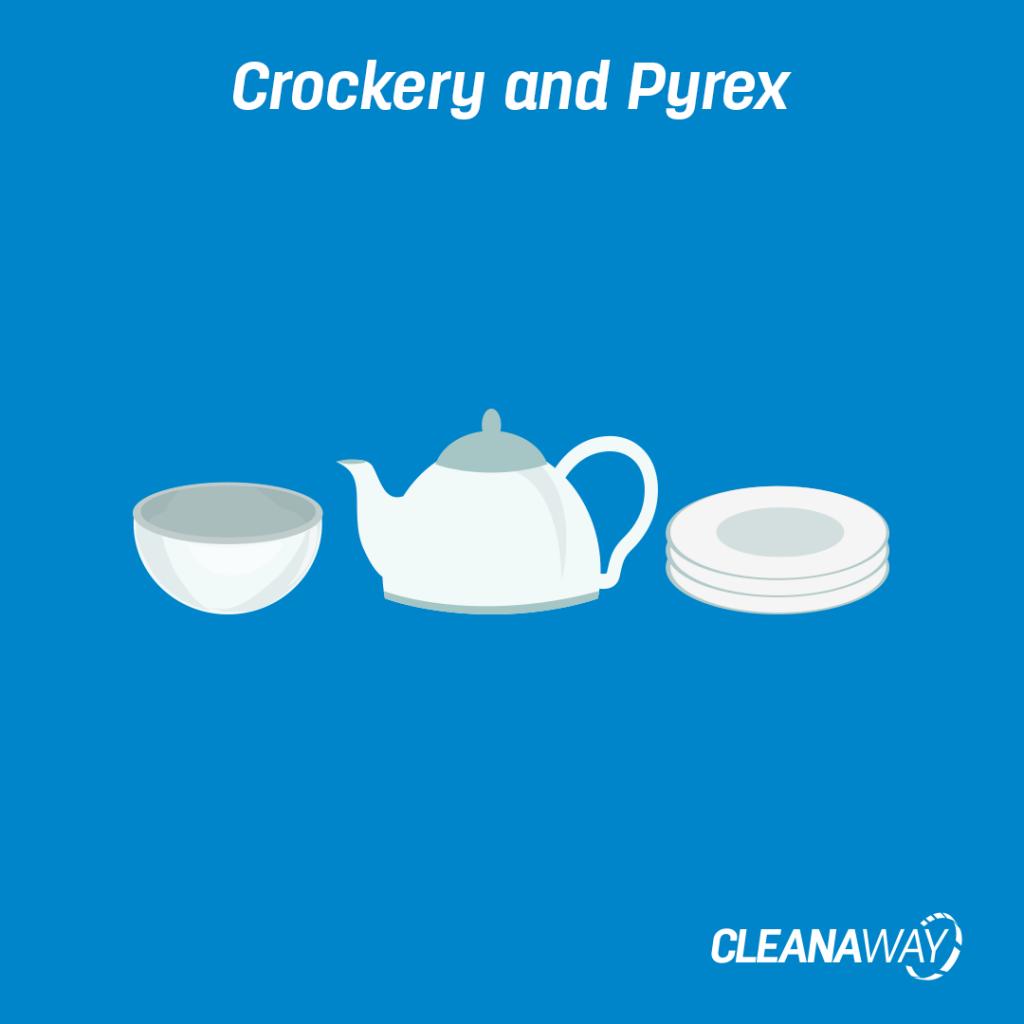 Crockery and Pyrex