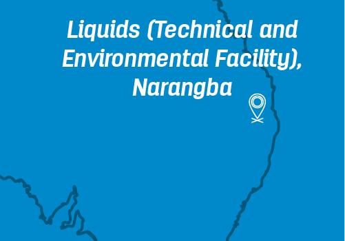 Liquids (Technical and Environmental Facility), Narangba location on map