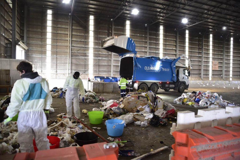 waste audit segragation