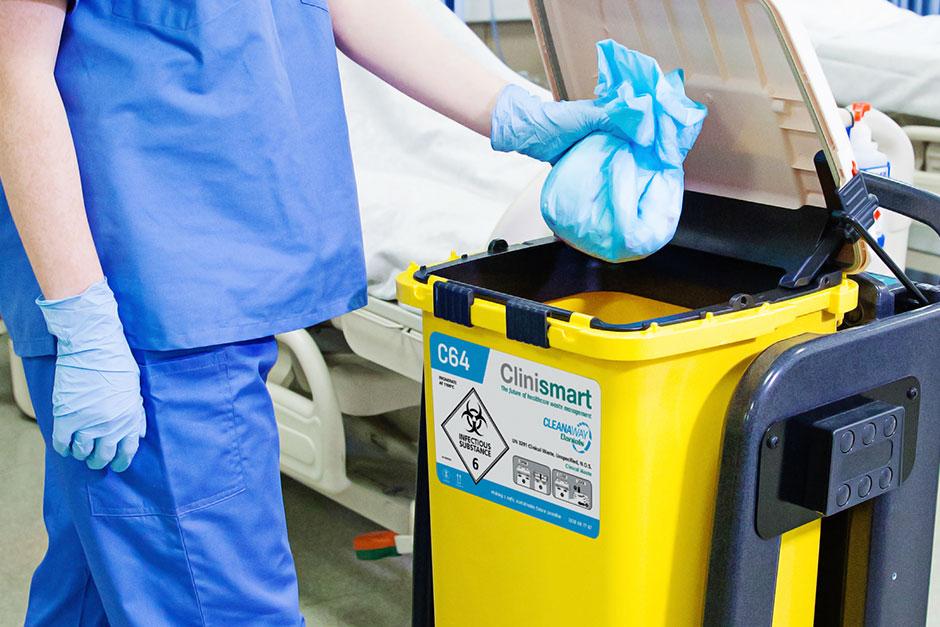 Cleanaway Daniels Clinismart medical waste bins