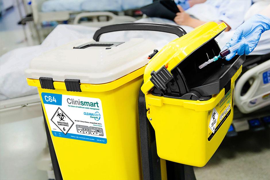 Cleanaway Daniels Clinismart bins