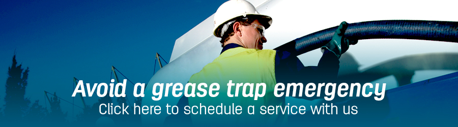 avoid grease trap emergency banner