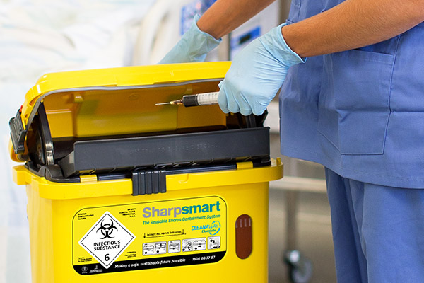 Cleanaway Daniels Sharpsmart bin