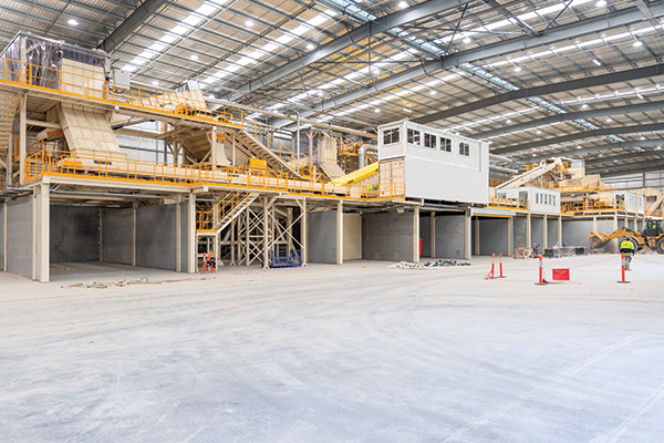 Cleanaway ResourceCo waste to process engineered fuel facility in Wetherill Park