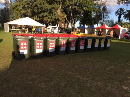 cleanaway bins at naidoc