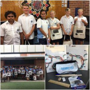School packs for Indigenous children