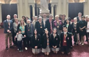 Celebrating 50 years of Community Service at Parliament House