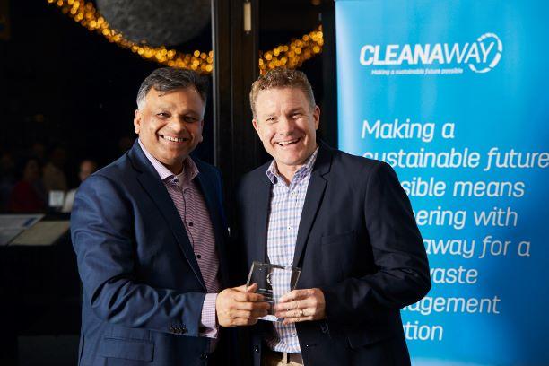 Cleanaway Awards Blake Senior