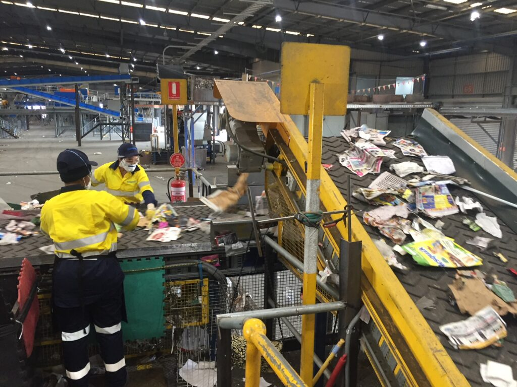 Material Recovery Facility at Laverton