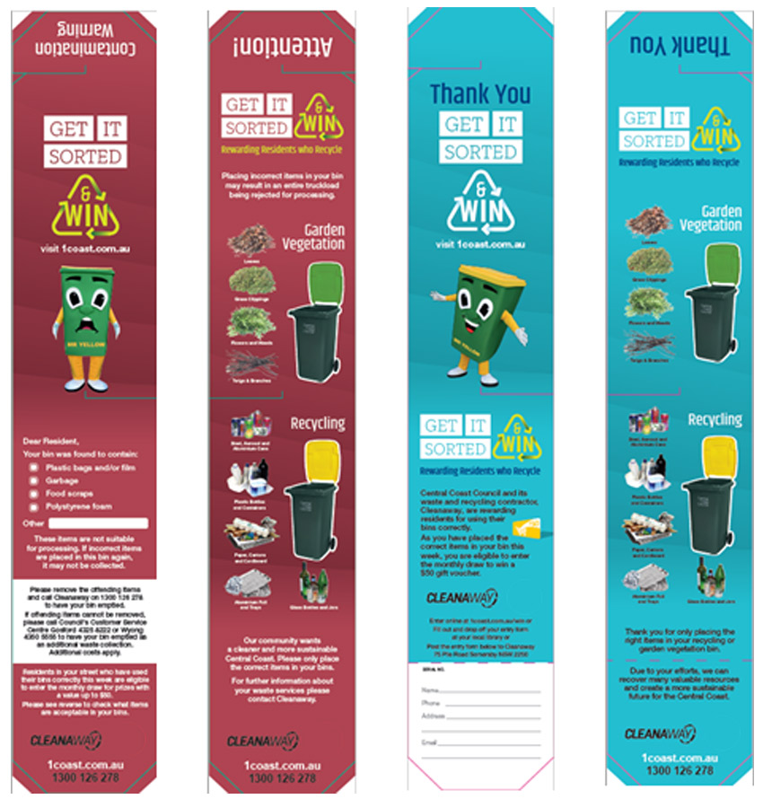 bin tagging