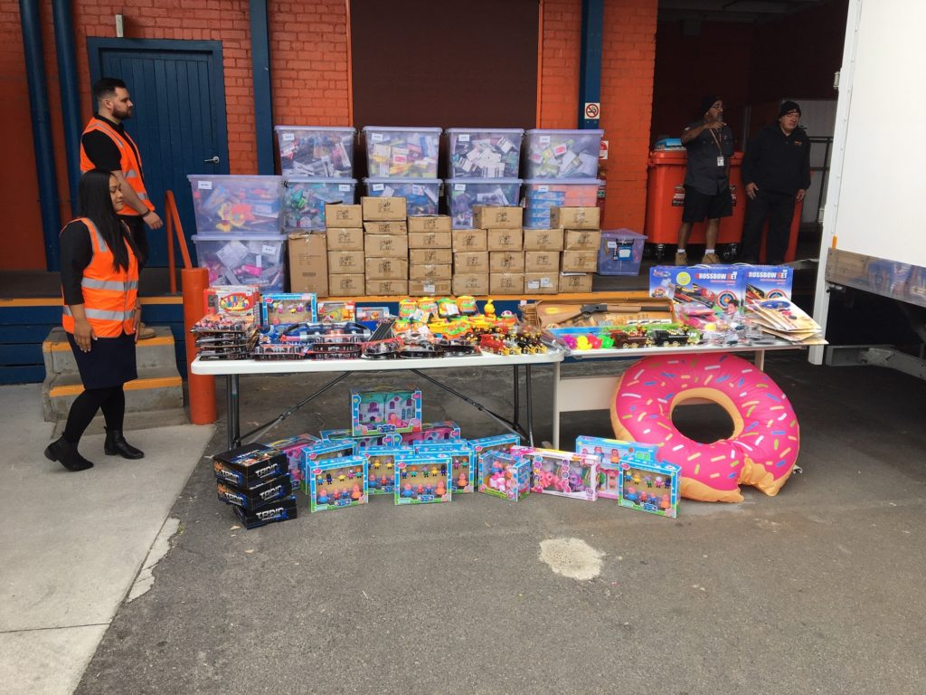 Cleanaway and Shred X organised the secure destruction of unsafe toys for Consumer Affairs Victoria