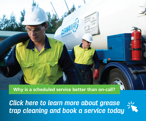 grease trap cleaning service banner