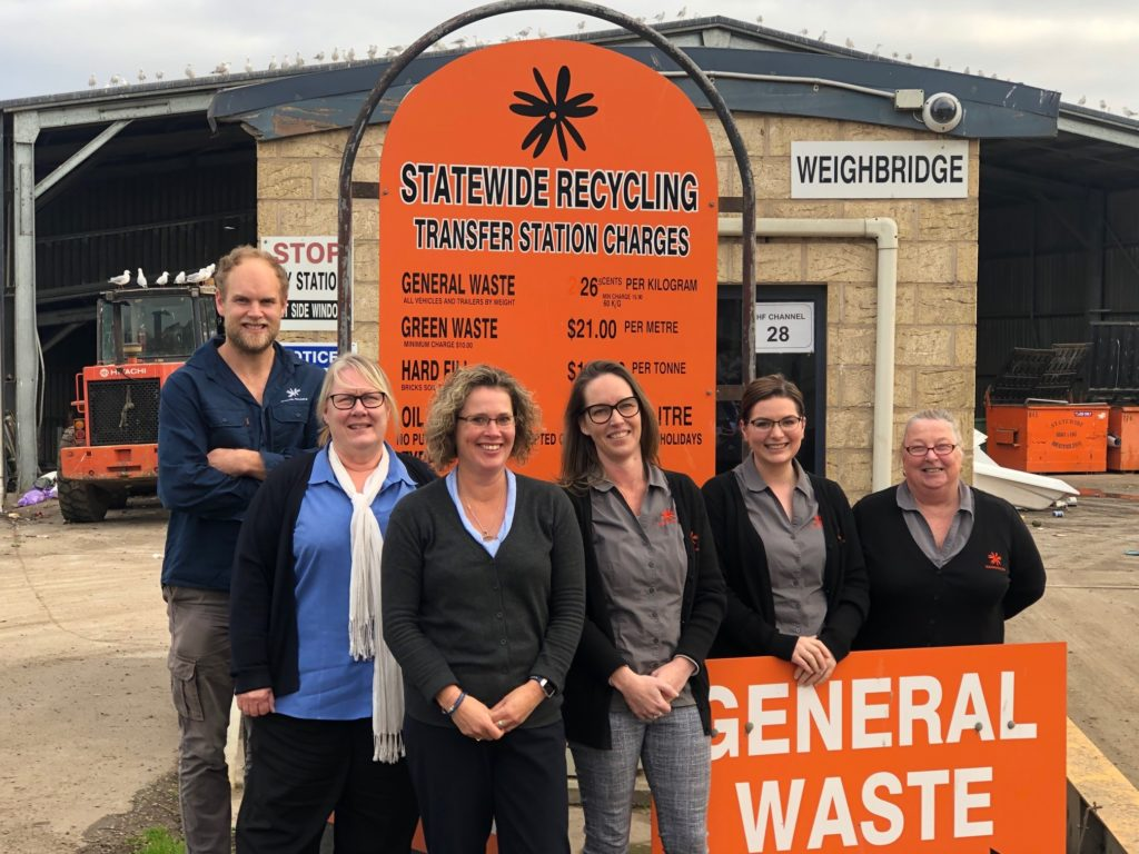 left to right: Branch Manager Carl Moloney and team – Elise Daly, Jocelyn Hawker, Karina Yates, Michelle Neal, Val Platen