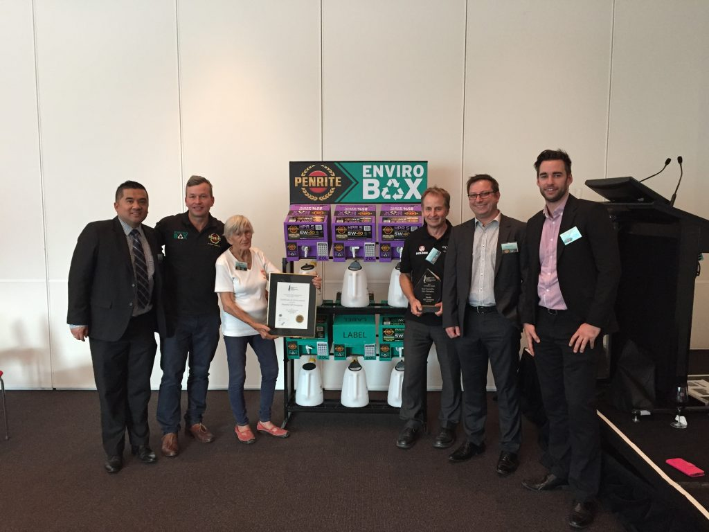 Cleanaway and Penrite teams at the Australian Automotive Aftermarket Expo