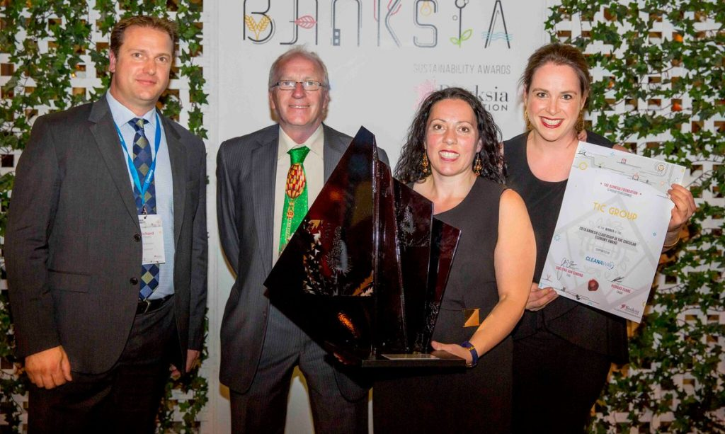 TIC Group Banksia Award winner with Richard
